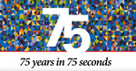 75 Years in 75 Seconds by The University of Texas MD Anderson Cancer Center