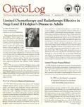 OncoLog Volume 32, Number 02, April-June 1987
