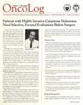 OncoLog Volume 32, Number 04, October-December 1987
