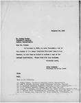 Association of Cancer Institute Directors (ACID), 1958-1959