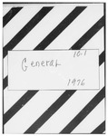 10.01 Association of American Cancer Institutes (AACI) General, 1976