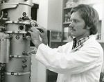 Summer Science Student at work, 1978 by Medical Graphics and Communications