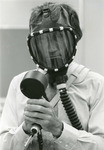 Don Plowman and chromatograph, 1978 by Medical Graphics and Communications