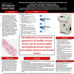 Defining acquired mutations in healthy breast tissue and their association with breast cancer risk factors and breast cancer by Kevin Nead MD, Christina McDowell, and Raven J. Hollis