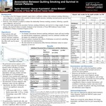 Association Between Quitting Smoking and Survival in Cancer Patients by Taylor Ashley Simmons, George Kypriotakis, and Janice Blalock