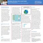 Decoding 100 clinical trials to plain English by Maria Cristina Maldonado-Barreno
